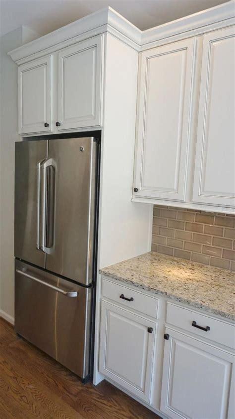 refrigerator enclosure  give built    glazed