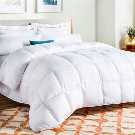fluffy bedding 9 best down alternative comforters 2018