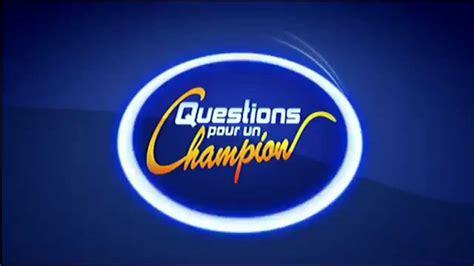 Question Pour Or G 233 N 233 Rique 3 Questions Pour Un Chion