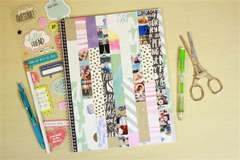 Decorating Notebooks For School by Craft Mambisheets Notebook Cover Collage Me Big Ideas