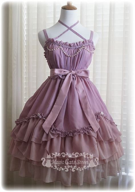 Fashion Reservations by Magic Cat Chiffon Gradient Jsk Reservations The