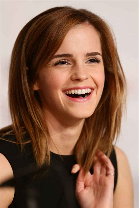 lob haircut thick hair 1000 images about hairstyles on pinterest emma watson