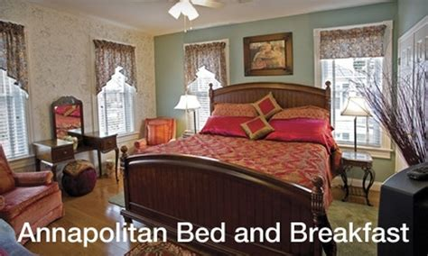 groupon bed and breakfast 57 off bed and breakfast stay annapolitan bed and