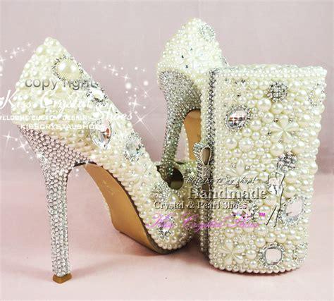 Cremefarbene Ballerinas Hochzeit by Aliexpress Buy Ivory Wedding Shoes Pearl
