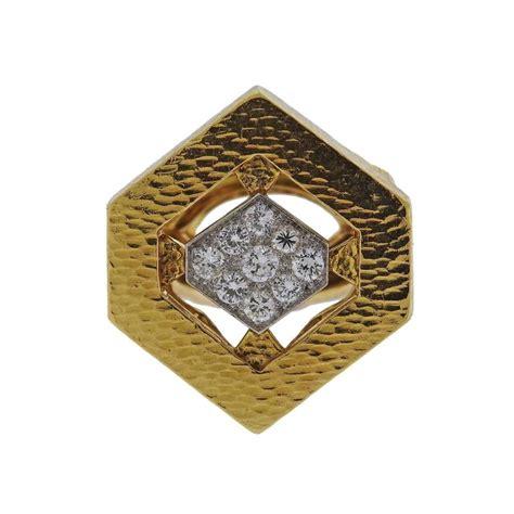 david webb gold platinum ring for sale at 1stdibs