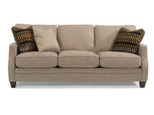 flexsteel living room fabric sofa 7564 31 the sofa store