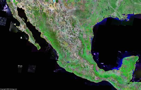 maps satellite image mexico map and satellite image