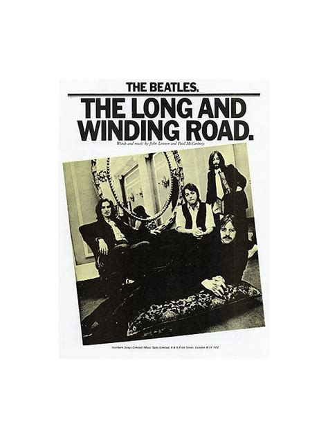 the beatles the and winding road pvg musicroom