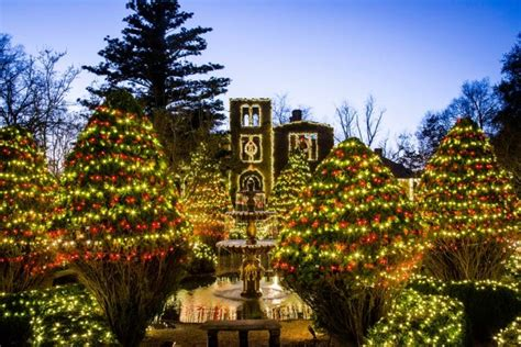 top  christmas towns  georgia