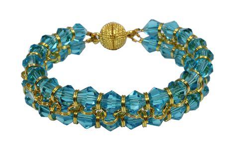 jewelry kits uk bracelet kit aqua craft hobby jewellery