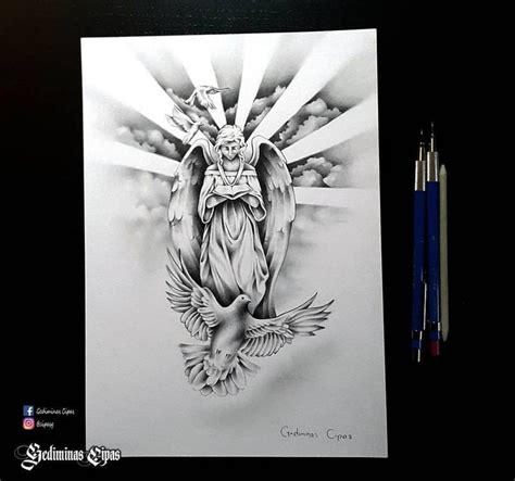 angel tattoos and designs page 368 tattoo sketch religious tattoo angel drawing god bird
