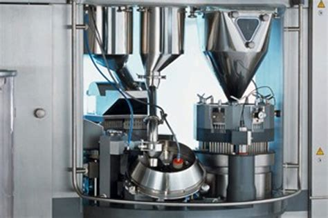 Bsh 100 Capsule capsule filling system with checkweigher system integration