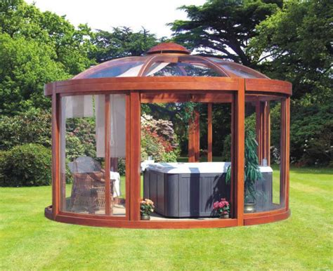 enclosed gazebo tub enclosed gazebo with glass wall ideas home