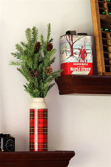vintage christmas home decor a vintage rustic industrial holiday house tour house