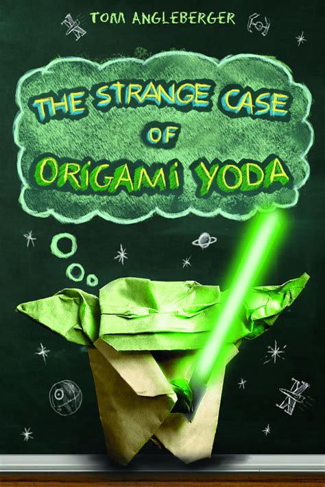 Tom Angleberger Origami Yoda - review of the day the strange of origami yoda by tom