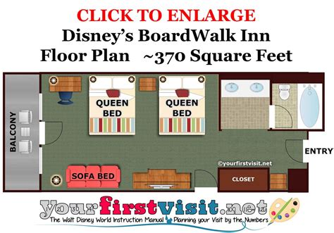 disney world boardwalk villas floor plan accommodations and theming at disney s boardwalk inn