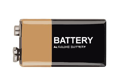 Transparent Battery For 4x18650 Transparent 1 free clipart page 2 1001freedownloads
