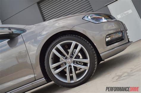 volkswagen golf wheels 2015 volkswagen golf 110tdi mk7 r line review video