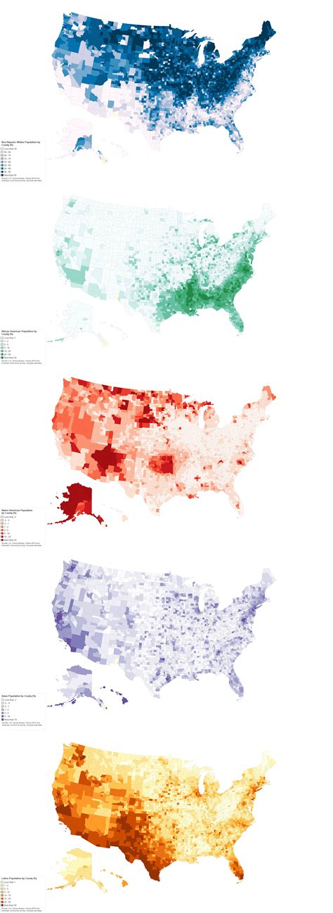 us demographics by race and ethnicity map the 5 u s counties where racial diversity is highest and