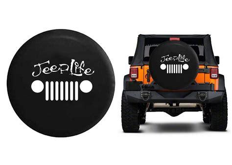 Jeep Wrangler Spare Tire Covers Jeep Grill Wrangler Jk Tj Spare Tire Cover Vinyl