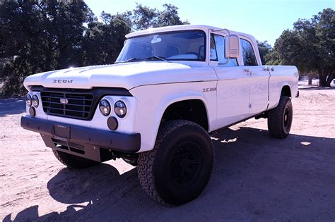 icon 4x4 d200 icon dodge d200 power wagon crew cab reformer