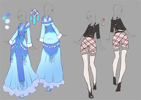 themes for clothing design april commissions 7 by rika dono on deviantart