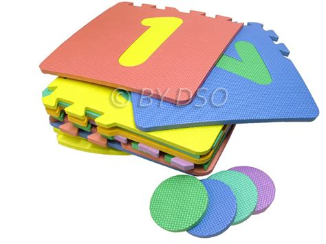 Playmat Bermain Animal Hopscotch Baterai redwood leisure soft foam hopscotch inter locking numbered play mat og201 ebay