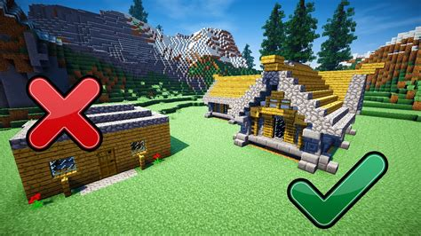 how do you build a house 5 easy tips to build better in minecraft youtube