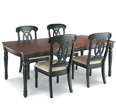 jcpenney dining room sets raleigh 5 pc dining set black