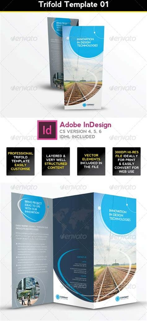 graphicriver brochure template brochure templates graphicriver trifold brochure