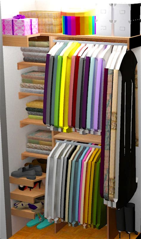 Diy Small Closet diy small closet organizer plans
