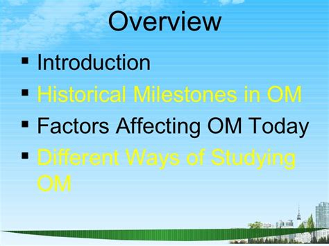Production And Operation Management Ppt For Mba by Operations Management Ppt Bec Doms Bagalkot Mba