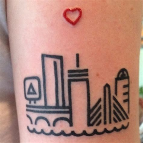 newspaper themed tattoo in times of tragedy people get boston themed tattoos