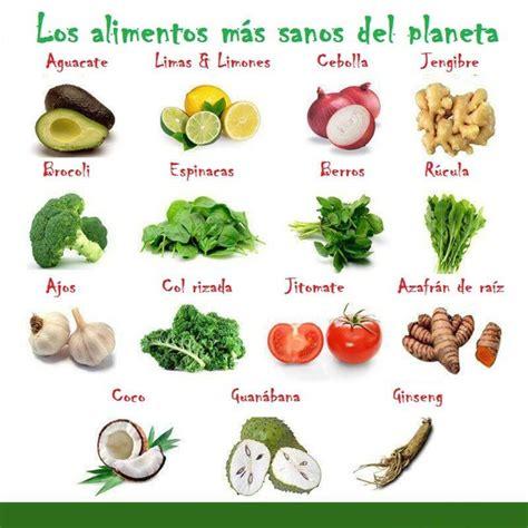 alimentos sanos algunos de los alimentos sanos que existen y que