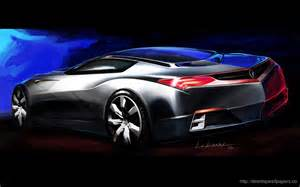 acura advanced sports car concept wallpaper desktop