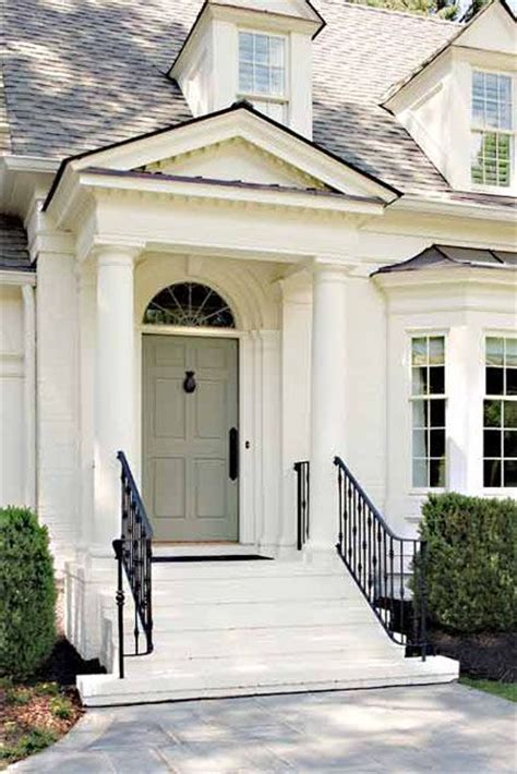 Front Door Railings Curb Appeal Appealing Front Porch And Home Simple And Entryway Curb Appeal