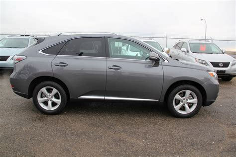 gray lexus 2012 lexus rx350 awd ultra premium park assist