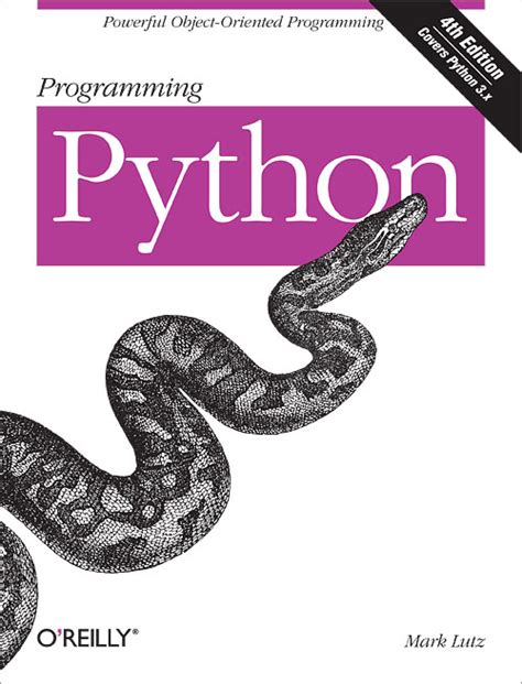 Pdf Teach Your To Code Book Python by Programming Python 4th Edition O Reilly Media