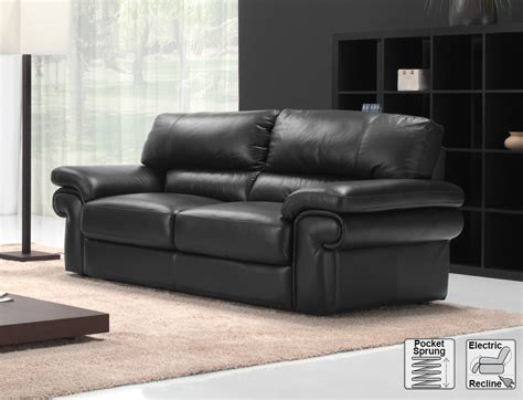 Italian Leather Sofas Uk 3 Seat Maggio Italian Leather Sofa Electric Reclining Maggio 3 Seat Elec Recline