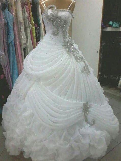 discount  luxury wedding dresses crystal beaded