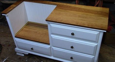 how to turn a dresser into a bench how to turn an old dresser into a seating furniture diy projects for everyone
