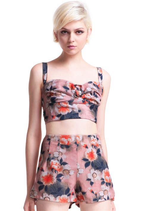 Jumpsuit Fisher Price Floral Pink quot flowers quot pink jumpsuitfor romwe