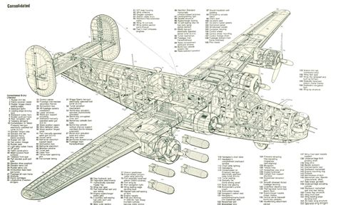 C M B 24 C 458th bombardment h the b 24 liberator