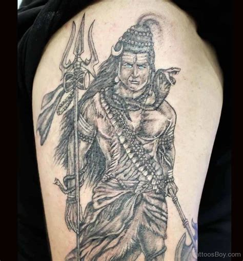 lord shiva tattoos for men warrior lord shiva designs pictures