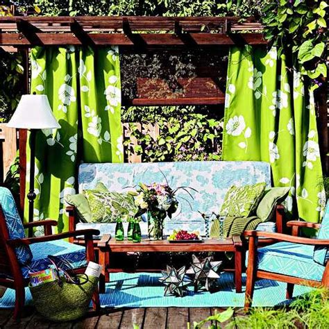 Garden Accessories Not On The High 20 Diy Outdoor Curtains Sunshades And Canopy Designs For