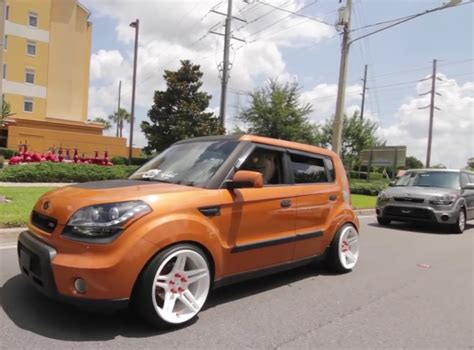 i rather like stanced boxy cars like the kia soul honda