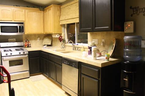 Updating Laminate Kitchen Cabinets How To Paint Laminate Cabinets Black Everdayentropy