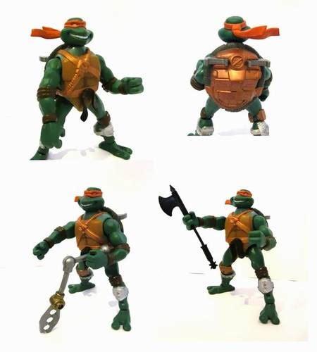 Mainan Figure Turles dinomarket 174 pasardino kura kura michaelangelo ready battle w axe tweezer pliers