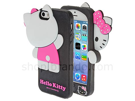 Iphone 5 5s Silicone 3d Hello Kode Df2220 1 iphone 5 5s hello 3d hide and seek soft silicone