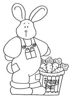 ARTE COM QUIANE - Paps e Moldes de Artesanato : coelhos de